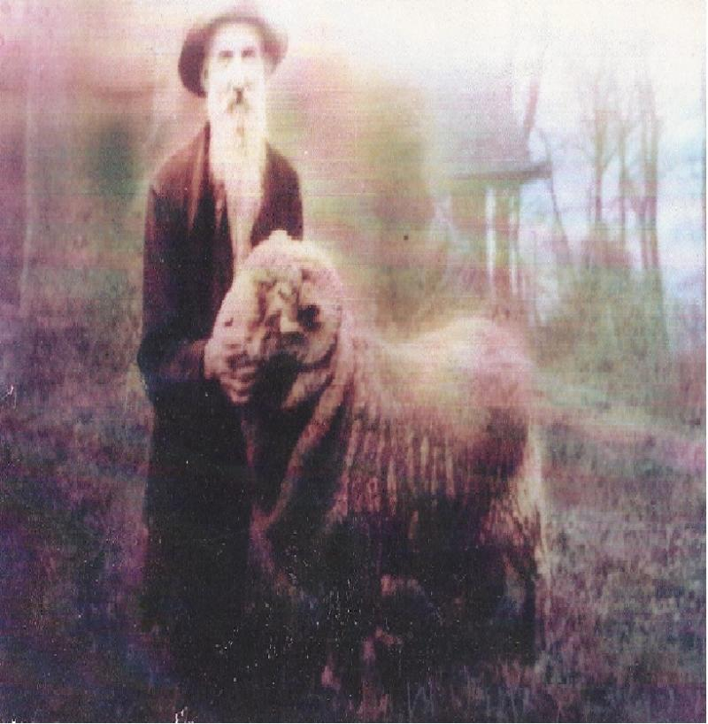 Great Great Great Grandfather with prized Ram